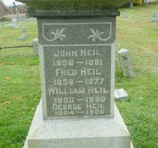 HEIL, WILLIAM - Suffolk County, New York | WILLIAM HEIL - New York Gravestone Photos