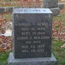 BENJAMIN, SARAH J - Suffolk County, New York | SARAH J BENJAMIN - New York Gravestone Photos