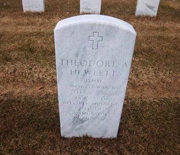 HEWLETT, THEODORE A - Suffolk County, New York | THEODORE A HEWLETT - New York Gravestone Photos