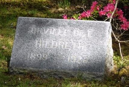HILDRETH, ORVILLE DEF. - Suffolk County, New York | ORVILLE DEF. HILDRETH - New York Gravestone Photos