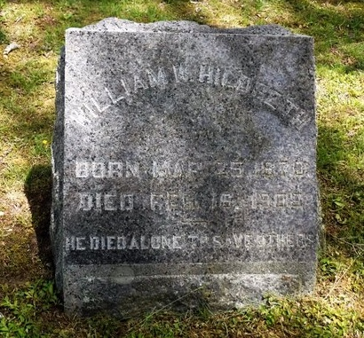 HILDRETH, WILLIAM W - Suffolk County, New York | WILLIAM W HILDRETH - New York Gravestone Photos