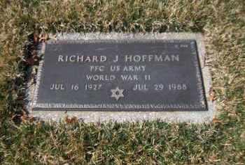 HOFFMAN, RICHARD J. - Suffolk County, New York | RICHARD J. HOFFMAN - New York Gravestone Photos
