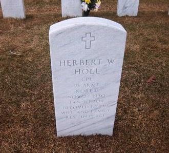 HOLL (KOR), HERBERT W - Suffolk County, New York | HERBERT W HOLL (KOR) - New York Gravestone Photos