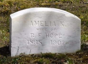 HOPE, AMELIA K - Suffolk County, New York | AMELIA K HOPE - New York Gravestone Photos