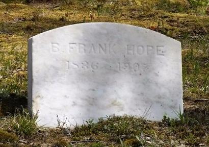 HOPE, B. FRANK - Suffolk County, New York | B. FRANK HOPE - New York Gravestone Photos