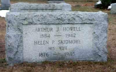 SKIDMORE HOWELL, HELEN P - Suffolk County, New York | HELEN P SKIDMORE HOWELL - New York Gravestone Photos