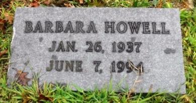 HOWELL, BARBARA - Suffolk County, New York   BARBARA HOWELL - New York Gravestone Photos