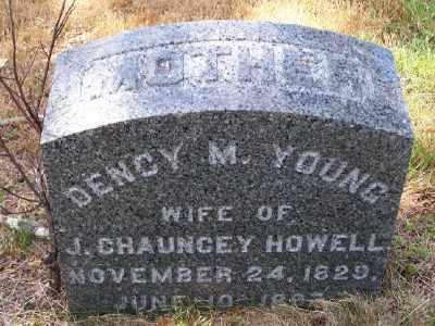 HOWELL, DENCY M - Suffolk County, New York | DENCY M HOWELL - New York Gravestone Photos