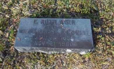 WEIR, E. RUTH - Suffolk County, New York | E. RUTH WEIR - New York Gravestone Photos