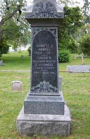 HOWELL, EMMETT J - Suffolk County, New York | EMMETT J HOWELL - New York Gravestone Photos