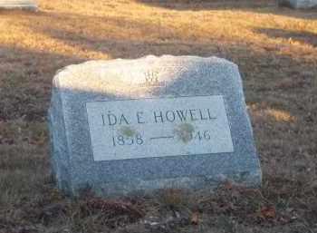 HOWELL, IDA E. - Suffolk County, New York   IDA E. HOWELL - New York Gravestone Photos
