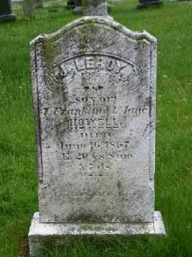 HOWELL, J. LEROY - Suffolk County, New York | J. LEROY HOWELL - New York Gravestone Photos