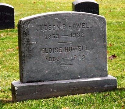 HOWELL, JUDSON P - Suffolk County, New York | JUDSON P HOWELL - New York Gravestone Photos