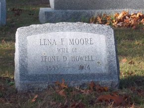 MOORE, LENA F - Suffolk County, New York | LENA F MOORE - New York Gravestone Photos