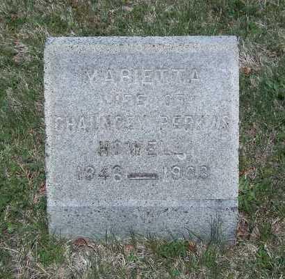 HOWELL, MARIETTA - Suffolk County, New York | MARIETTA HOWELL - New York Gravestone Photos