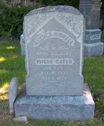 GATES HOWELL, PHEBE - Suffolk County, New York | PHEBE GATES HOWELL - New York Gravestone Photos