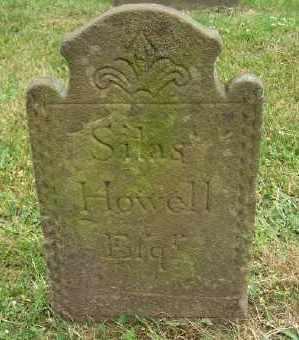HOWELL, SILAS - Suffolk County, New York | SILAS HOWELL - New York Gravestone Photos