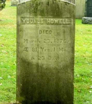 HOWELL, YOUNGS - Suffolk County, New York   YOUNGS HOWELL - New York Gravestone Photos
