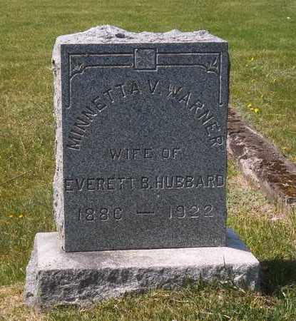 WARNER, MINNETTA V - Suffolk County, New York | MINNETTA V WARNER - New York Gravestone Photos