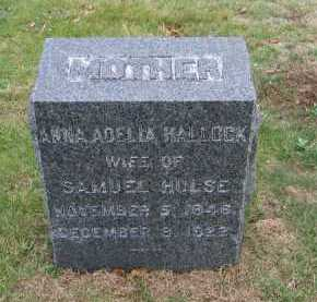 HALLOCK, ANNA ADLIA - Suffolk County, New York | ANNA ADLIA HALLOCK - New York Gravestone Photos