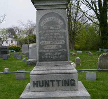 HUNTTING, JAMES R. - Suffolk County, New York | JAMES R. HUNTTING - New York Gravestone Photos