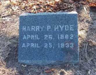 HYDE, HARRY P - Suffolk County, New York   HARRY P HYDE - New York Gravestone Photos