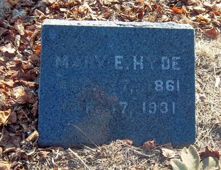 HYDE, MARY E - Suffolk County, New York | MARY E HYDE - New York Gravestone Photos