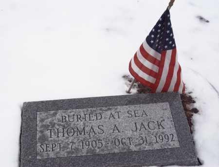 JACK, THOMAS - Suffolk County, New York | THOMAS JACK - New York Gravestone Photos