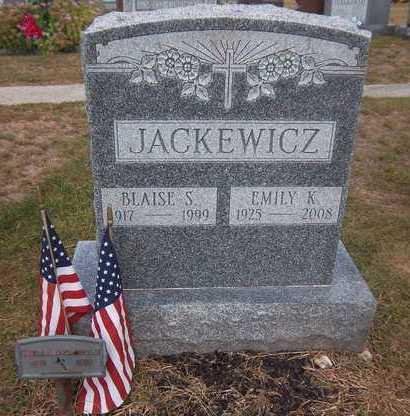 JACKEWICA, BLAISE S - Suffolk County, New York | BLAISE S JACKEWICA - New York Gravestone Photos