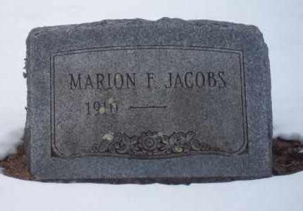 JACOBS, MARION - Suffolk County, New York   MARION JACOBS - New York Gravestone Photos