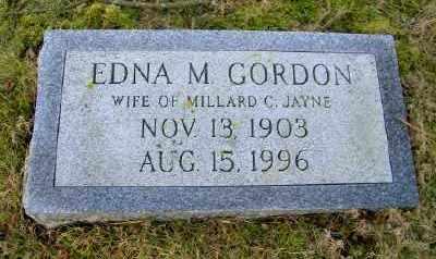 GORDON JAYNE, EDNA M - Suffolk County, New York | EDNA M GORDON JAYNE - New York Gravestone Photos