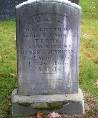 TERRY JENNINGS, IDA J - Suffolk County, New York | IDA J TERRY JENNINGS - New York Gravestone Photos
