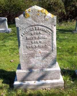 BURNETT, FRANCIES - Suffolk County, New York | FRANCIES BURNETT - New York Gravestone Photos
