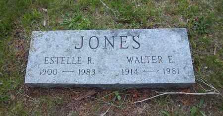 JONES, ESTELLE R - Suffolk County, New York | ESTELLE R JONES - New York Gravestone Photos