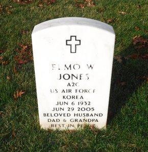 JONES (KOR), ELMO W - Suffolk County, New York   ELMO W JONES (KOR) - New York Gravestone Photos