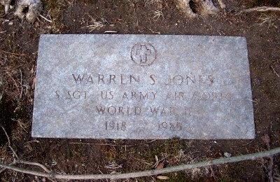 JONES, WARREN S - Suffolk County, New York | WARREN S JONES - New York Gravestone Photos