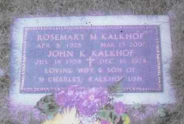 KALKHOF, ROSEMARY MARGARET - Suffolk County, New York | ROSEMARY MARGARET KALKHOF - New York Gravestone Photos
