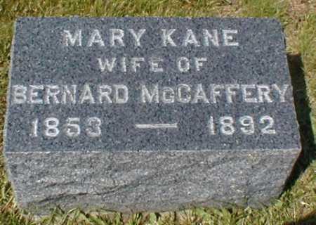 KANE MCCAFFERY, MARY - Suffolk County, New York | MARY KANE MCCAFFERY - New York Gravestone Photos