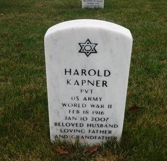 KAPNER (WWII), HAROLD - Suffolk County, New York | HAROLD KAPNER (WWII) - New York Gravestone Photos