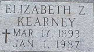 KEARNEY, ELIZABETH Z. - Suffolk County, New York | ELIZABETH Z. KEARNEY - New York Gravestone Photos
