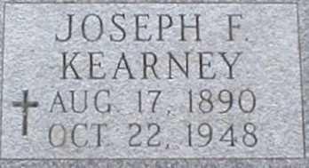 KEARNEY, JOSEPH F. - Suffolk County, New York | JOSEPH F. KEARNEY - New York Gravestone Photos