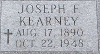 KEARNEY, JOSEPH F. - Suffolk County, New York | JOSEPH F. KEARNEY - New York Gravestone Photos