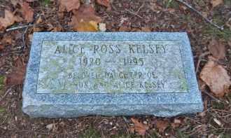 KELSEY, ALICE - Suffolk County, New York | ALICE KELSEY - New York Gravestone Photos