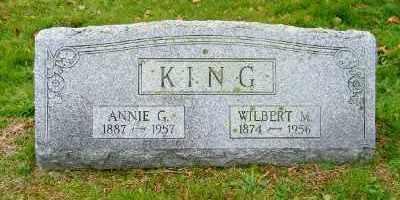 KING, ANNIE G. - Suffolk County, New York   ANNIE G. KING - New York Gravestone Photos