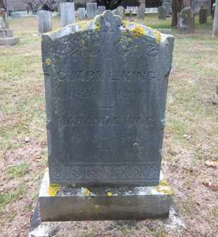 KING, CLARK L. - Suffolk County, New York | CLARK L. KING - New York Gravestone Photos