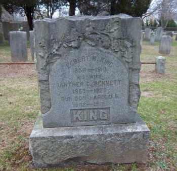 BENNETT KING, IANTHER C. - Suffolk County, New York | IANTHER C. BENNETT KING - New York Gravestone Photos