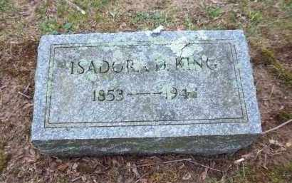 KING, ISADORA - Suffolk County, New York | ISADORA KING - New York Gravestone Photos