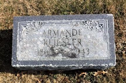 KLIESLER, ARMANDE - Suffolk County, New York   ARMANDE KLIESLER - New York Gravestone Photos