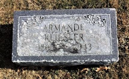KLIESLER, ARMANDE - Suffolk County, New York | ARMANDE KLIESLER - New York Gravestone Photos