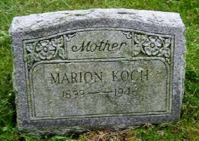 KOCH, MARION - Suffolk County, New York | MARION KOCH - New York Gravestone Photos